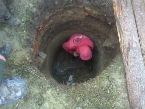 Hloubení kopané studny