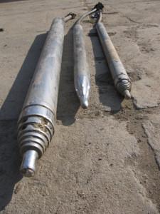 """Zemní raketa pro pneumatický protlak (tzv. """"krtek"""")"""