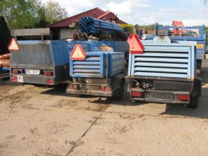 Nákladní vozidla a kompresory